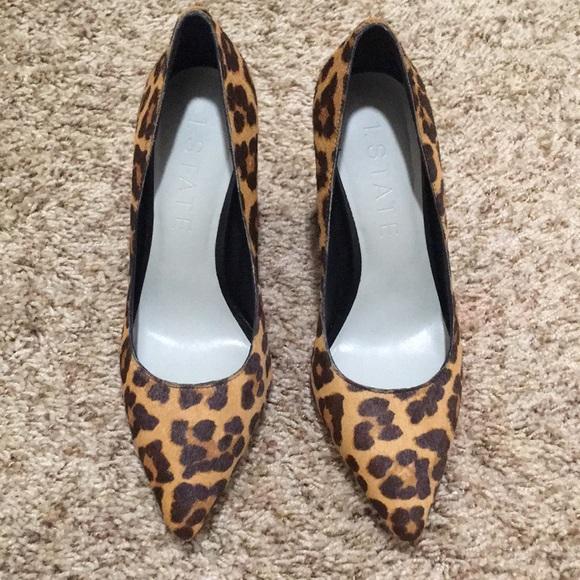 State Valencia Leopard Pint Heels